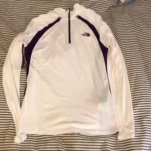 The North Face long sleeve half zip